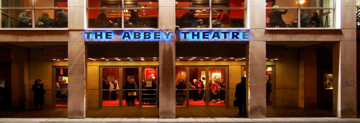 Backstage tours at Abbey Theatre