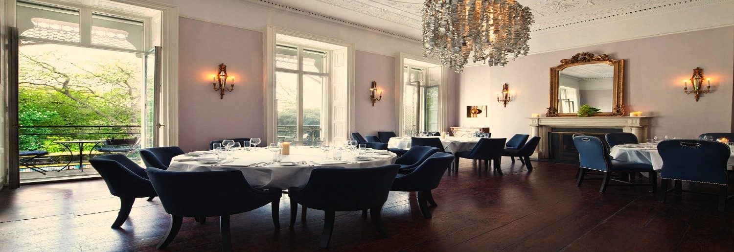 The cliff townhouse for Best private dining rooms dublin