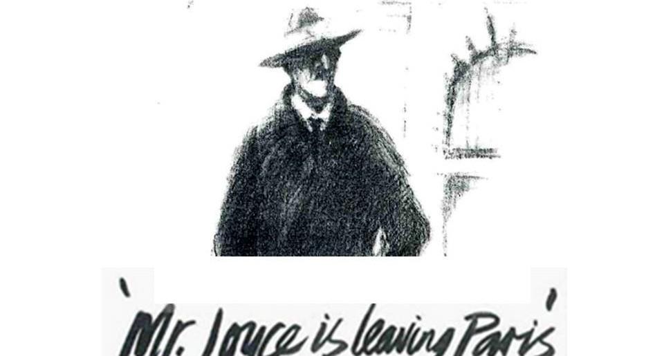 Mr Joyce Is Leaving Paris at The Back Loft