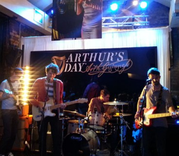 Bouts perform at launch of Arthur's Day 2013