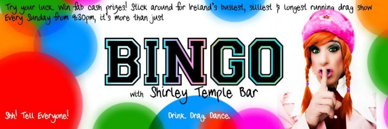Bingo with Shirley Templebar