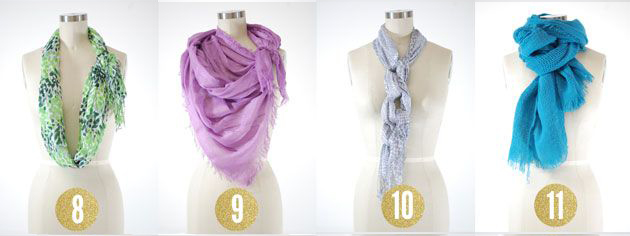 15 ways to tie a scarf and look fabulous dublinfashion 15 ways to tie scarves3 ccuart Choice Image