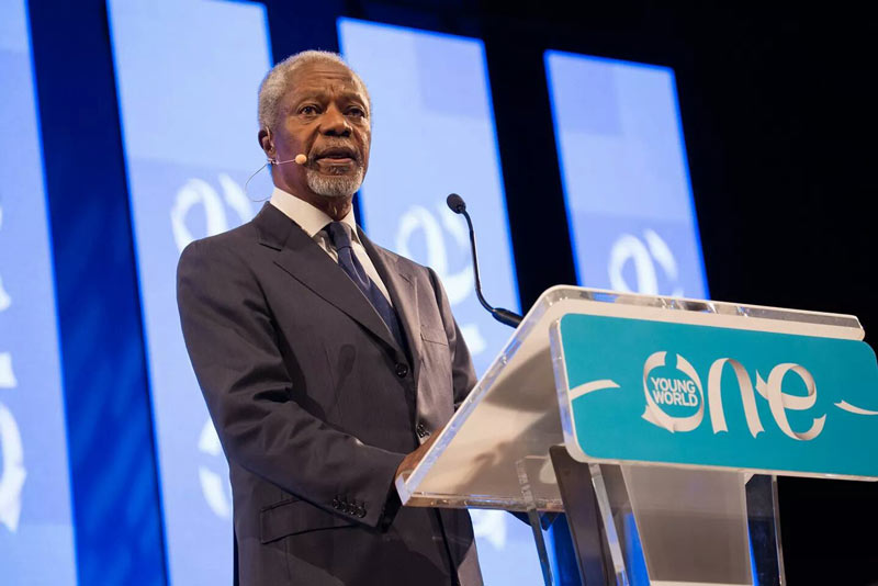 Special message from Kofi Annan