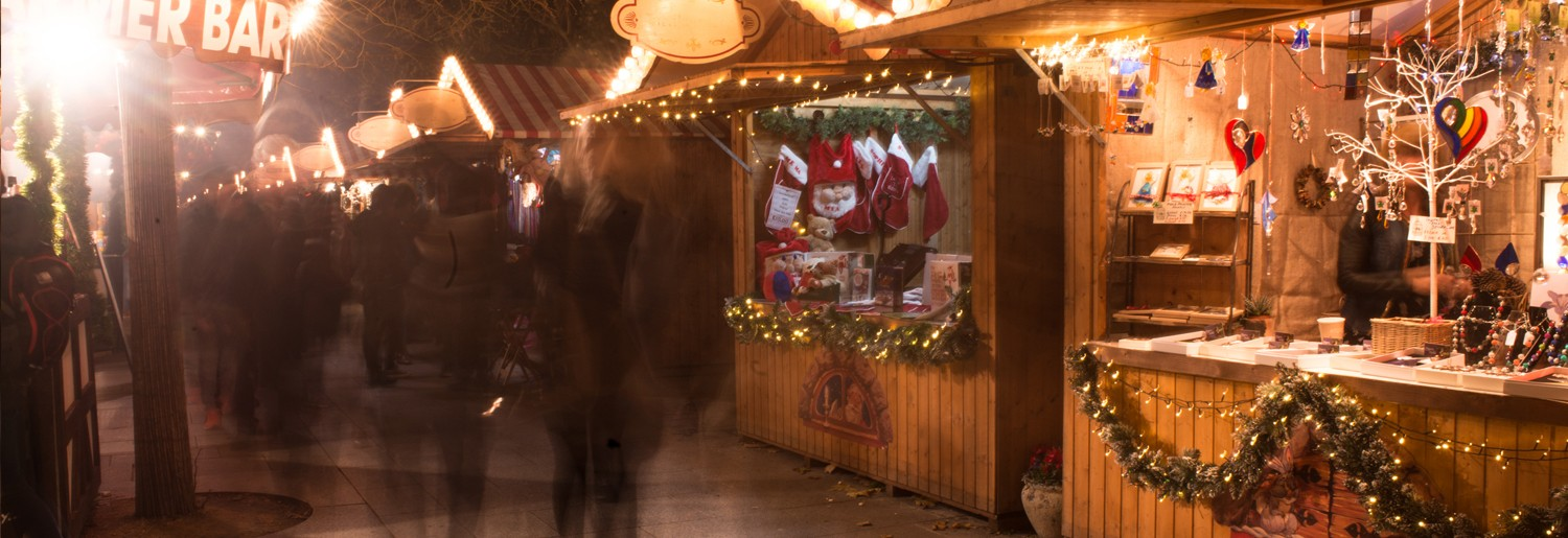 Christmas Market at St. Stephen's Green