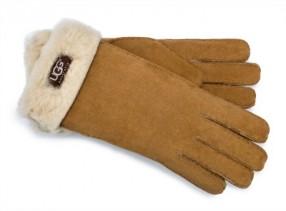 Arnotts Ugg Classic Turn Cuff Glove Chestnut E 150