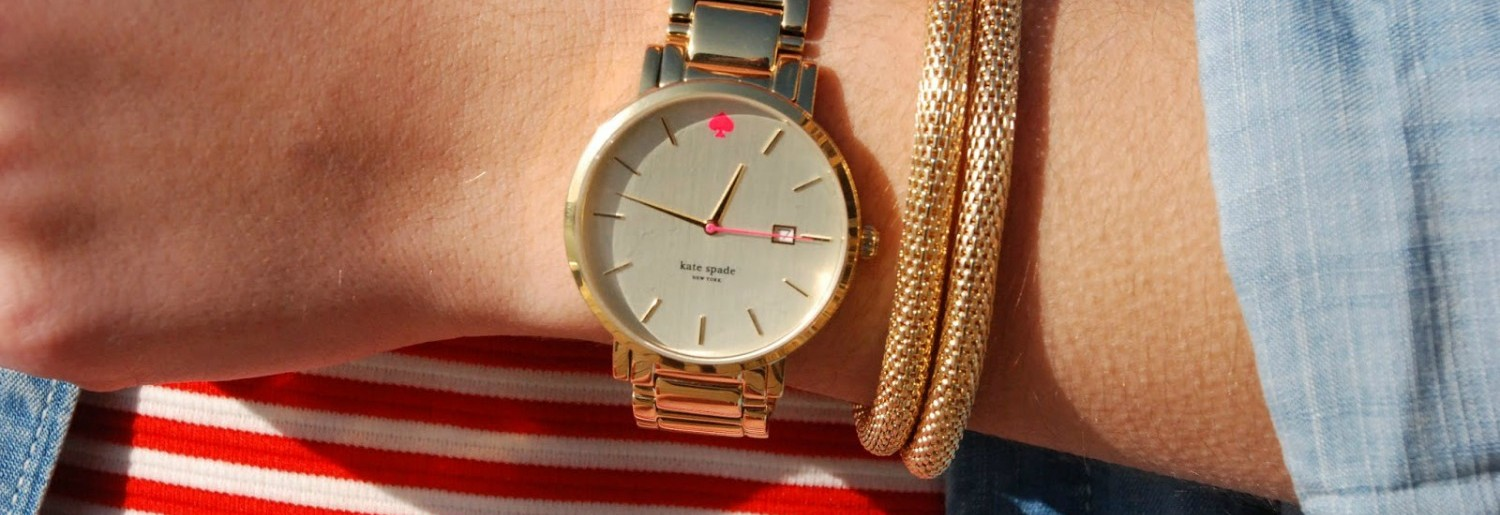 ARNOTTS WELCOMES KATE SPADE WATCHES
