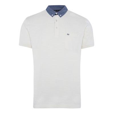 Farrell-cream-denim-collar-polo-tee,-€12,-in-selected-stores-November