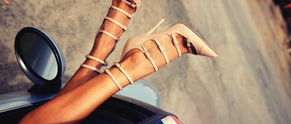 Tuesday Shoe Day – nude shoes