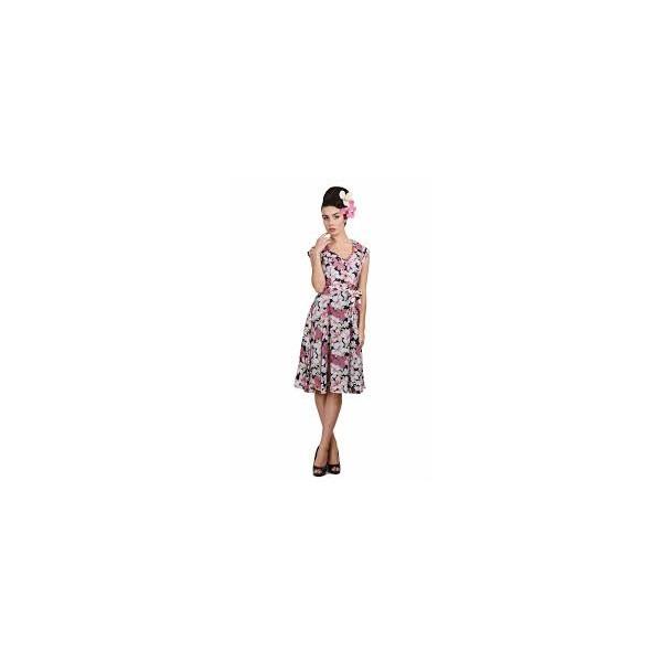 Vintage dresses- collectif-violet-dress