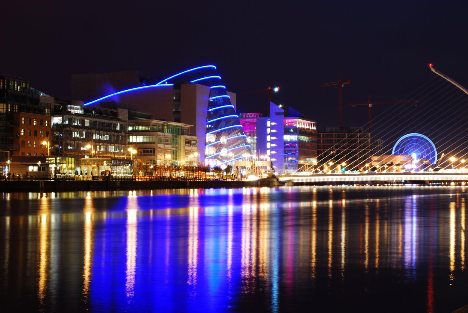 Dublin City at Night Night · What if Dublin