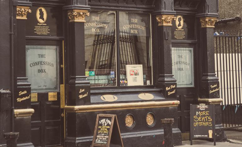 1916 Pubs - Confession Box