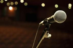 poetry mic
