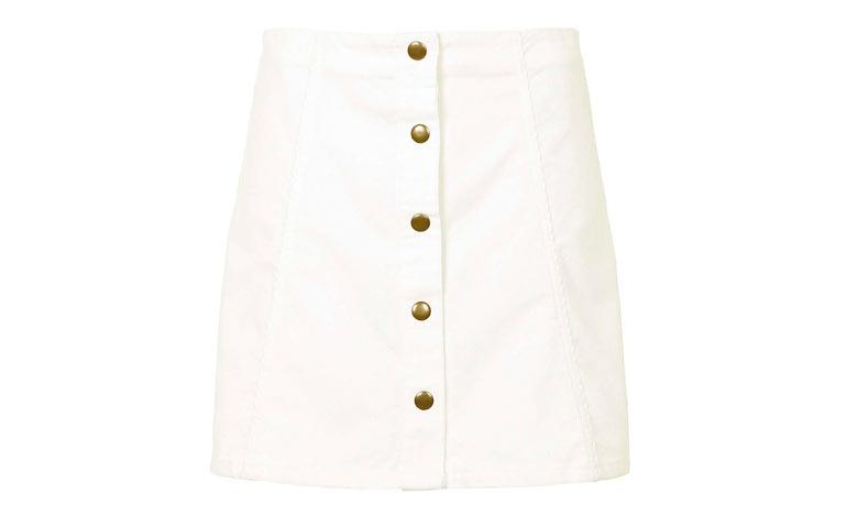 white-skirt