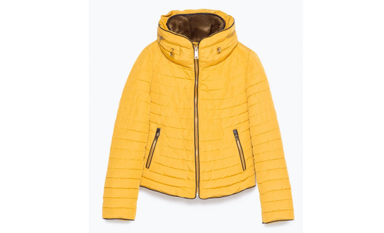393baa36 Winter-Coats—Zara-Yellow-Jacket-with-Fur-lining