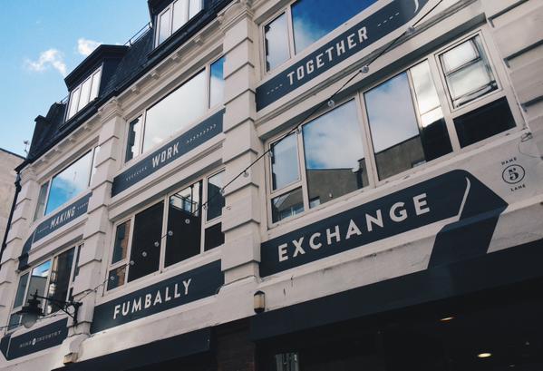 fumbally exchange new shop front