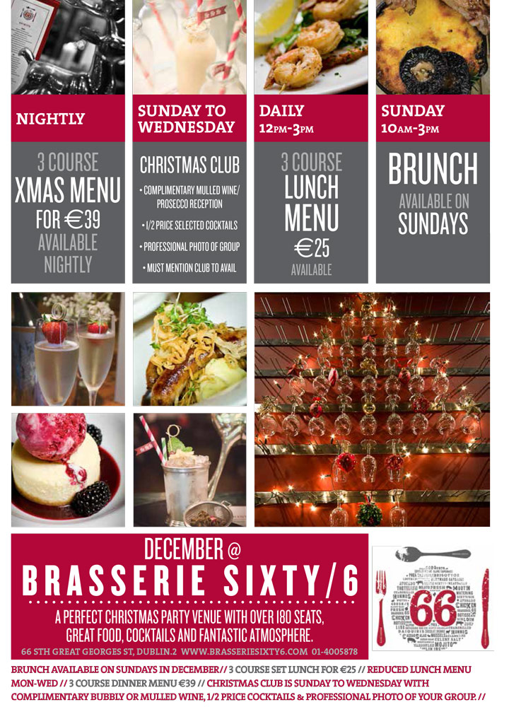 Brasserie-Sixty6-Christmas-Offers