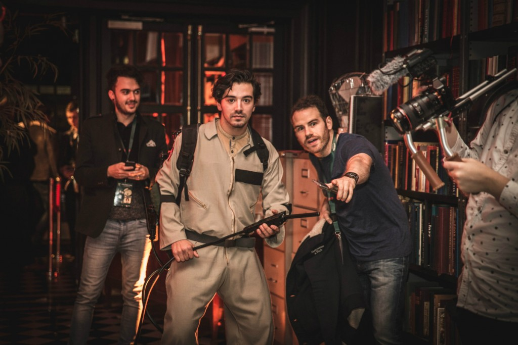 ghostbusters action shot