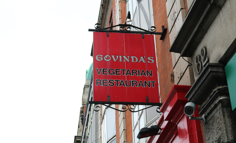 Places to eat on Henry Street - Govinda's
