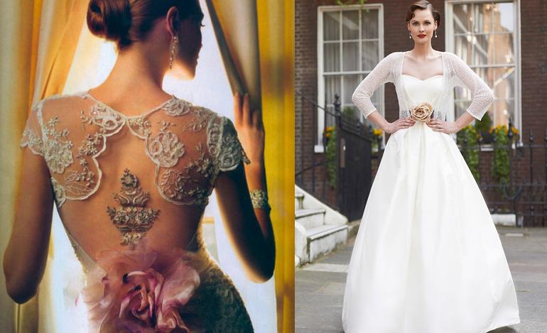 wedding dress myrtle ivory
