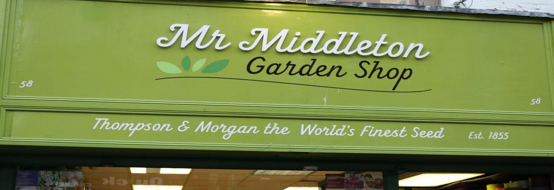 Mr. Middleton Garden Shop