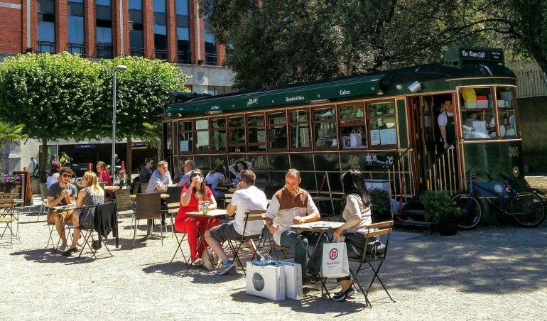 tram cafe