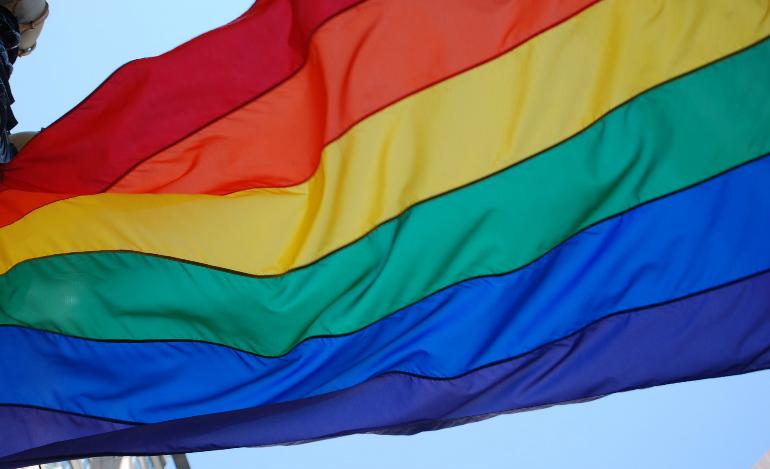 pride flag resized