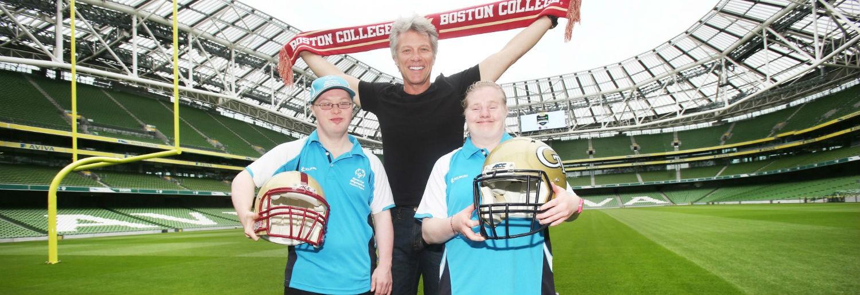 Jon Bon Jovi announces Aer Lingus College Football Classic charity partner