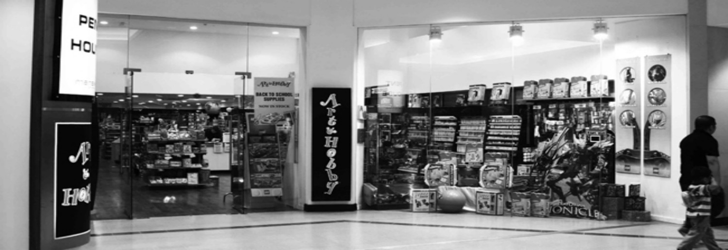 Art & Hobby (Jervis Shopping Centre)