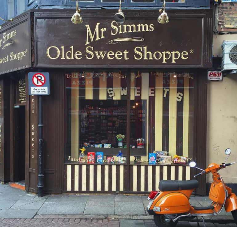 mr simmms olde sweet shop
