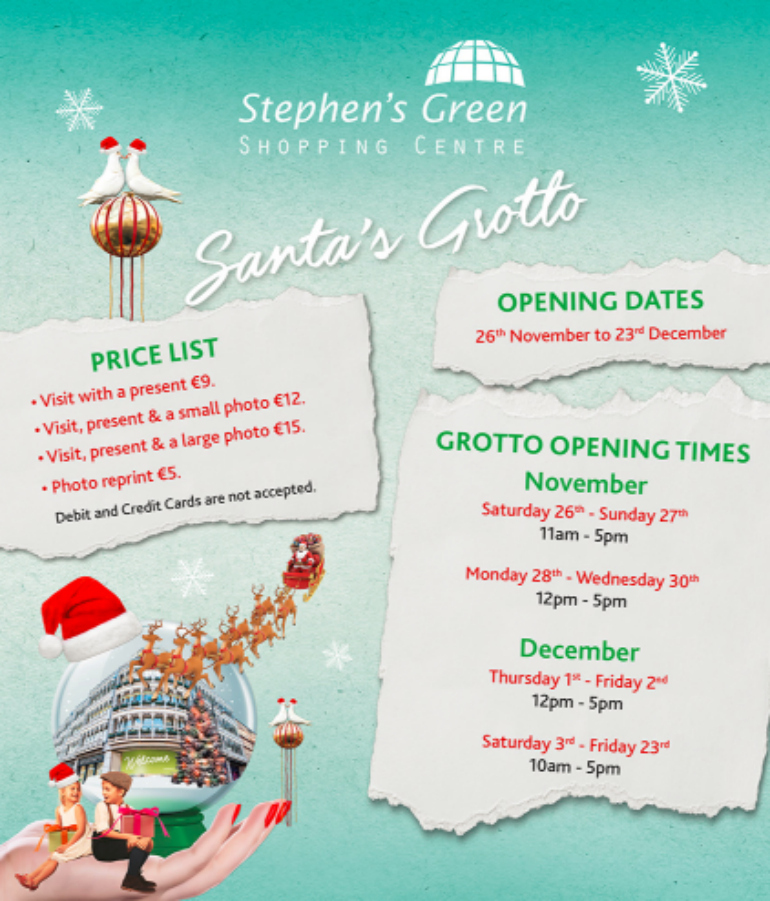 stepthens green santa