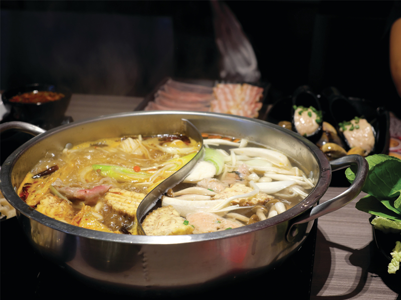 Gastronomía china en Dublin