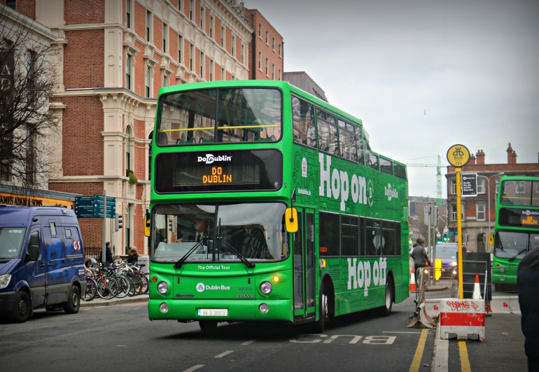 Do Dublin bus tour