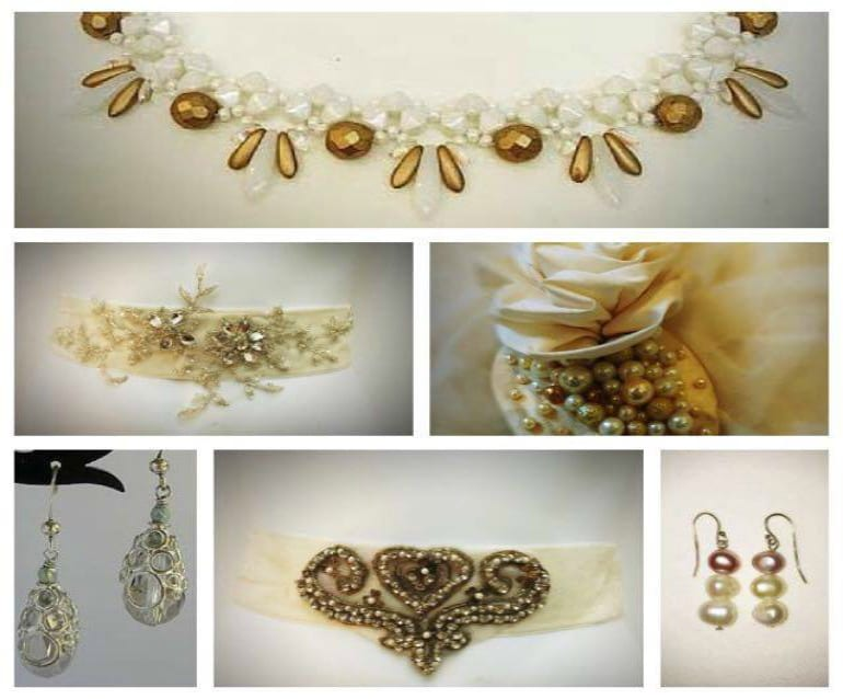 Bridal accessories From one-off ivory velvet sashes to a wide ...