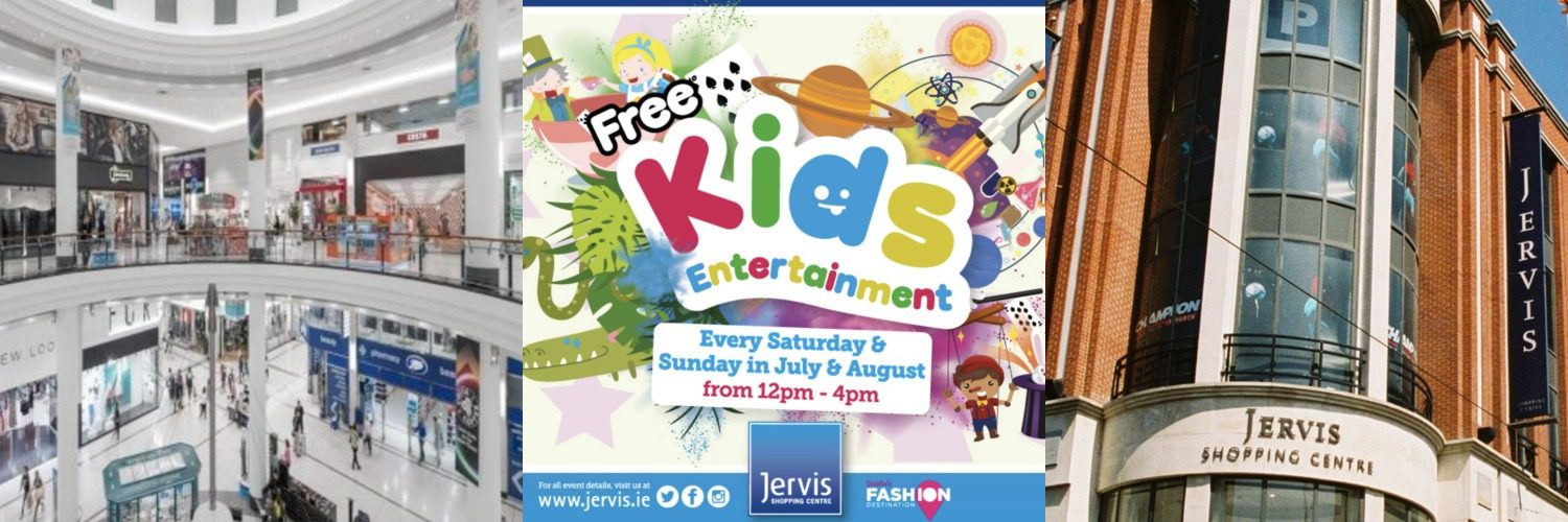 Kids Entertainment at Jervis Shopping Centre