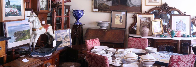Destination Antiques at Michael Duffy's Parnell St