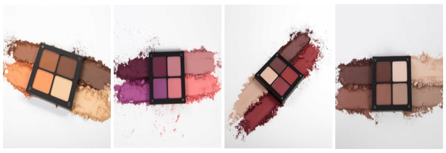 INGLOT'S 'SIGNATURE COLLECTION' EYESHADOW PALETTES