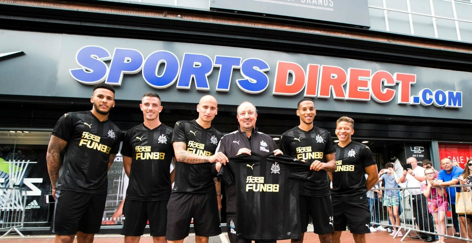 Image result for newcastle sports direct