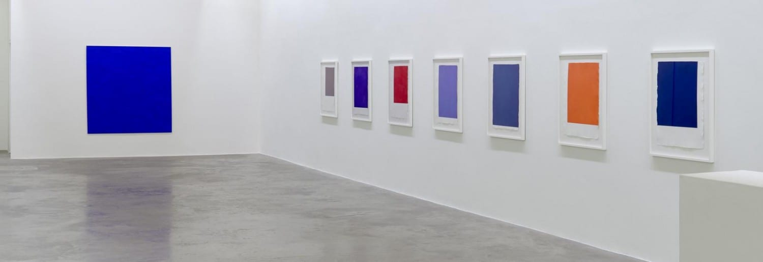 Callum Innes Solo Exhibition at Kerlins Gallery