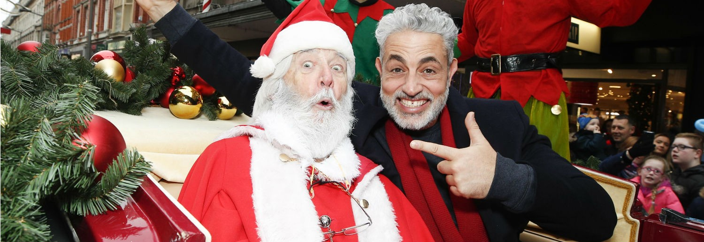 Santa at Arnotts