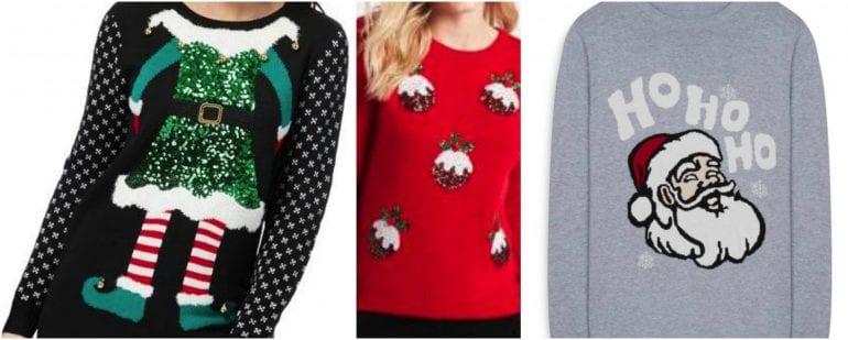 christmas jumper shopping