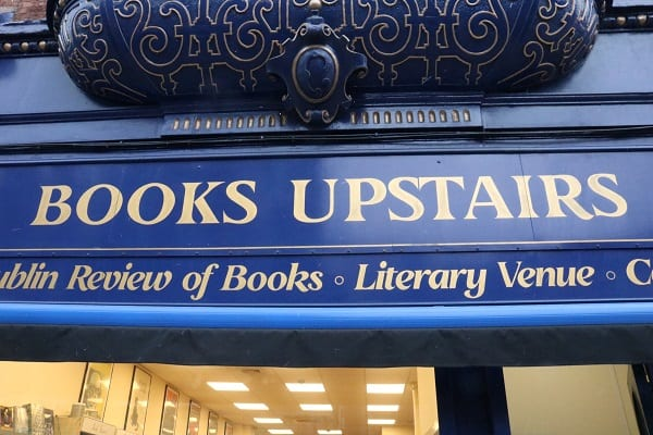 DublinTown meets Maurice Earls of Books Upstairs