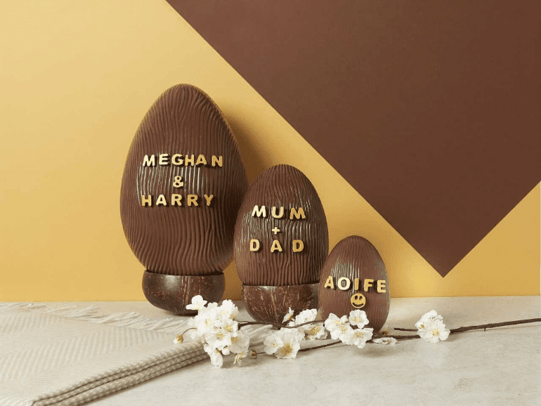 Personalise your easter eggs this easter dublintown charbonnel et walkers are also personalising easter gifts add a special message or a loved ones name to their iconic silk ribbon in the dublin store negle Images