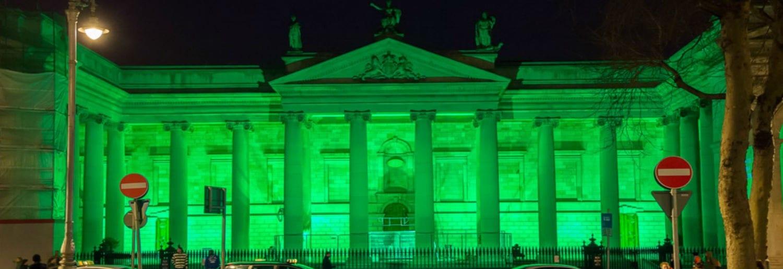 Greening the City for St. Patricks Festival