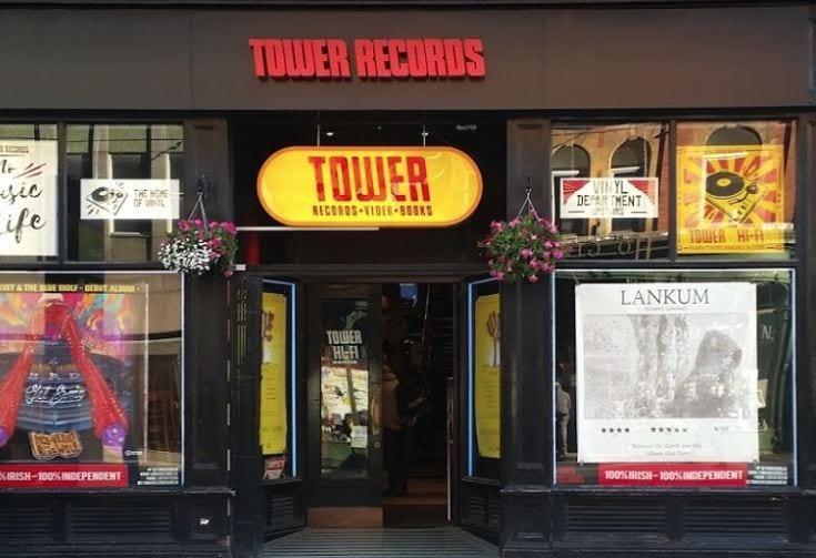 tower records. Black Bedroom Furniture Sets. Home Design Ideas