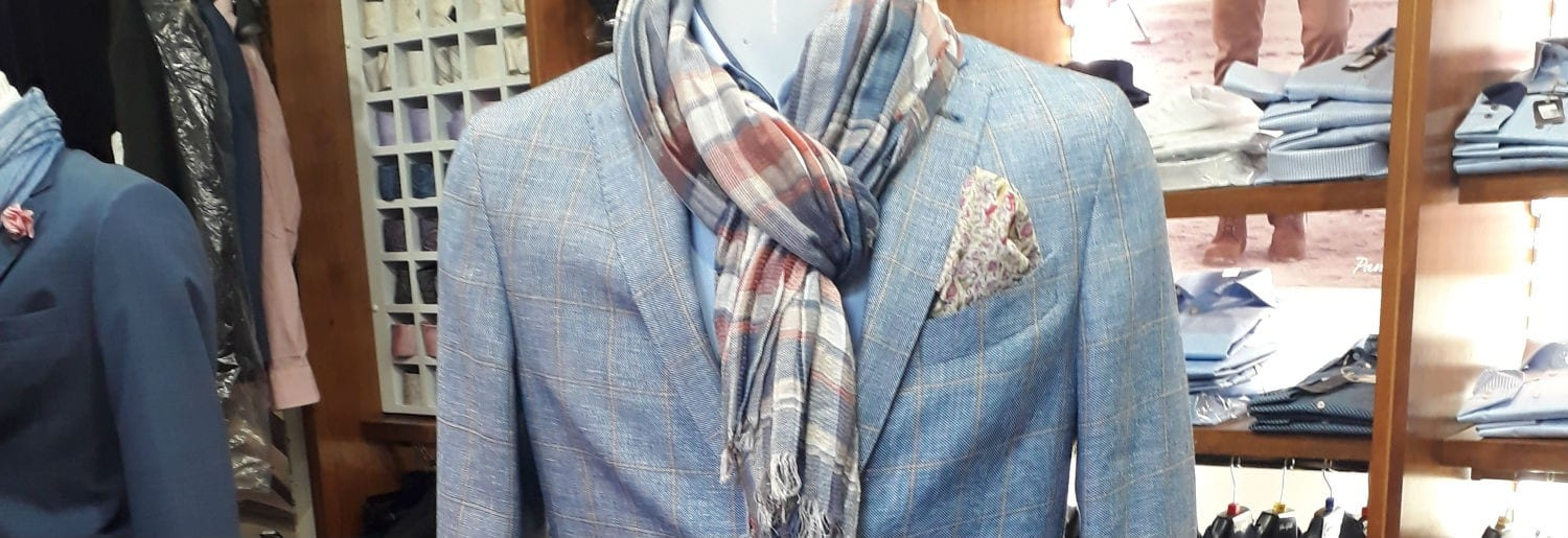 Affordable luxury at Massimo Menswear