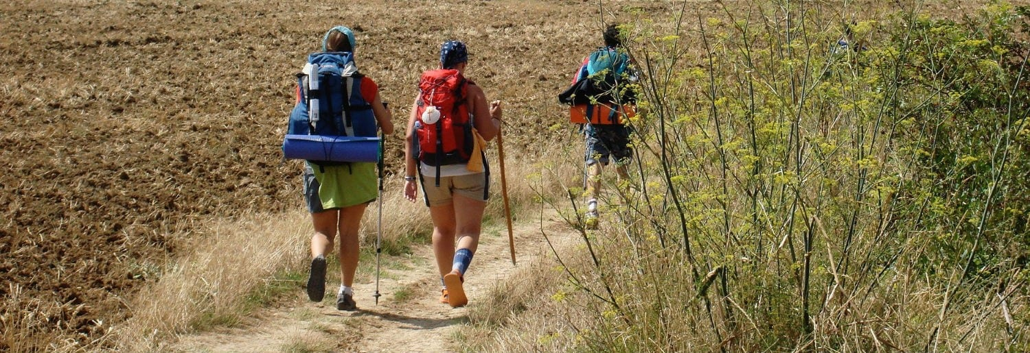 Guide to what to wear for the Camino with Ramblers Way