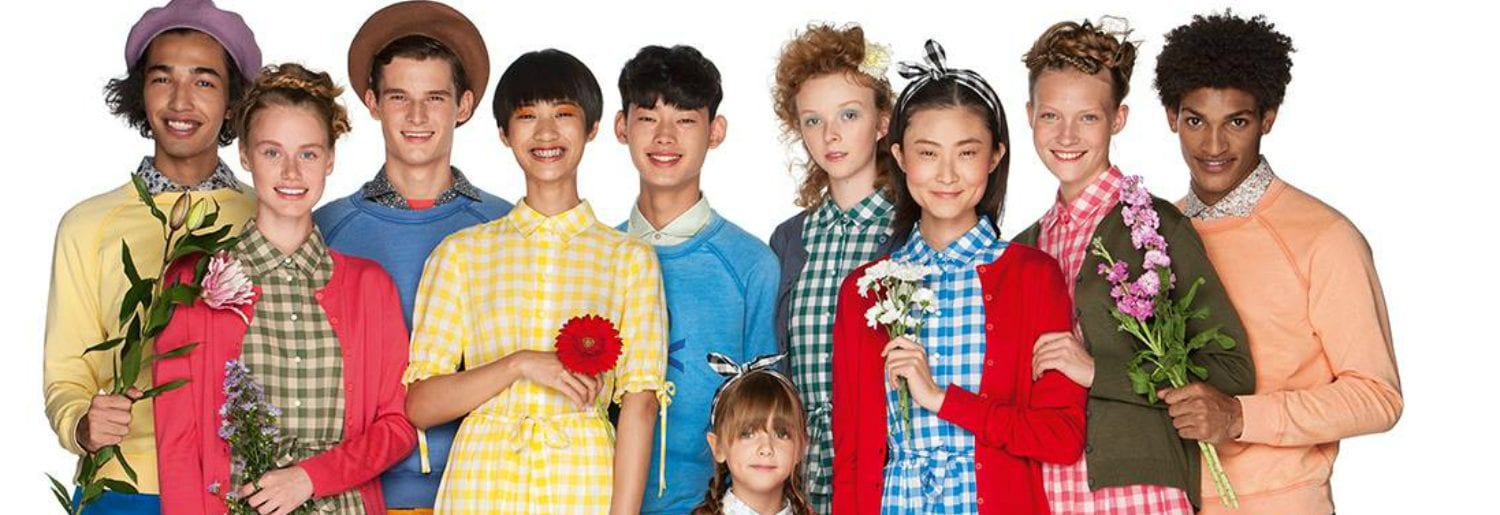 Easy, Colorful and Cool Trends with United Colors of Benetton