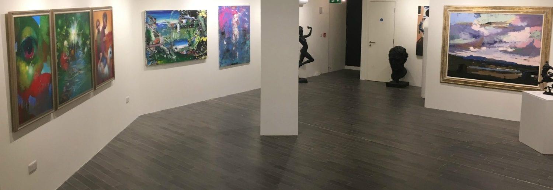 Sol Art Gallery Grand Opening on D'Olier Street