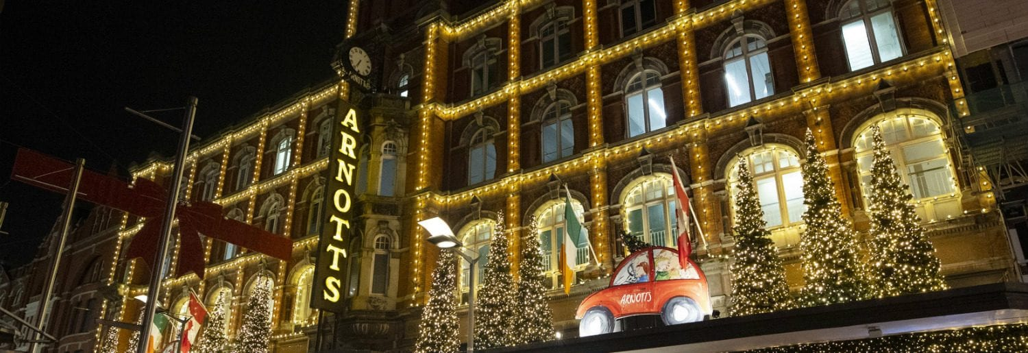 Arnotts Reveal their Christmas Lights and Windows