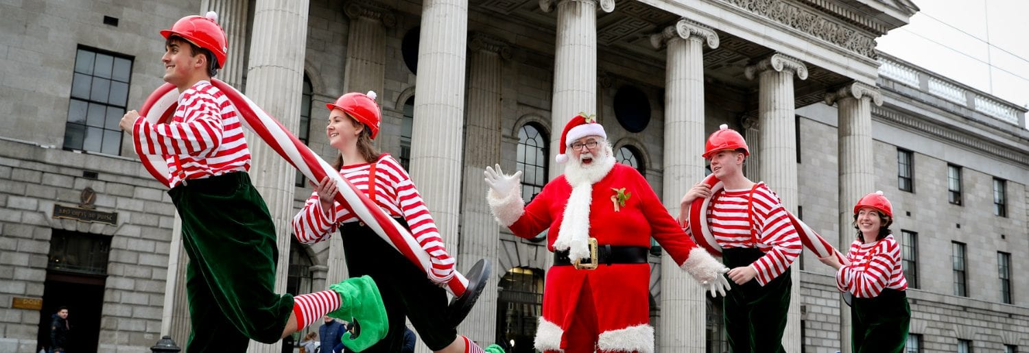 Visit Santa at GPO Witness History this Christmas